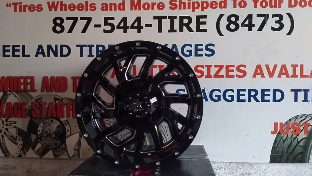 877-544-8473 20 Inch Big Lip Black RBP Glock Lifted Off Road Truck Rims Free Shipping – Truck News – BuyTrucks.ca