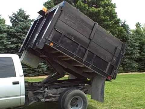 95 GMC 6 5 diesel auto 4×4 dually landscape dump bed video ride – Truck News –BuyTrucks.ca